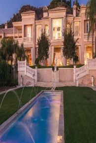 Palazzo di Amore is the most expensive estate in Beverly Hills, which pretty much makes it the most expensive on the West Coast, and after hitting the market almost a year ago, has now had its asking price slashed by 25 percent from $195 million to $149 million.