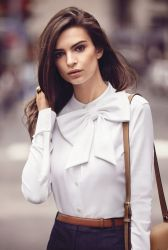 EMILY RATAJKOWSKI FOR HARPER: THE FASHION SHOOT